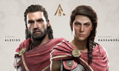 Assassin's Creed Odyssey los protagonistas
