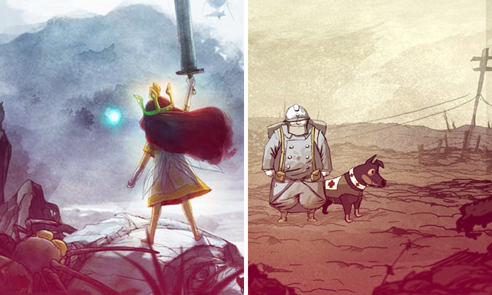 Child of Light y Valiant Hearts