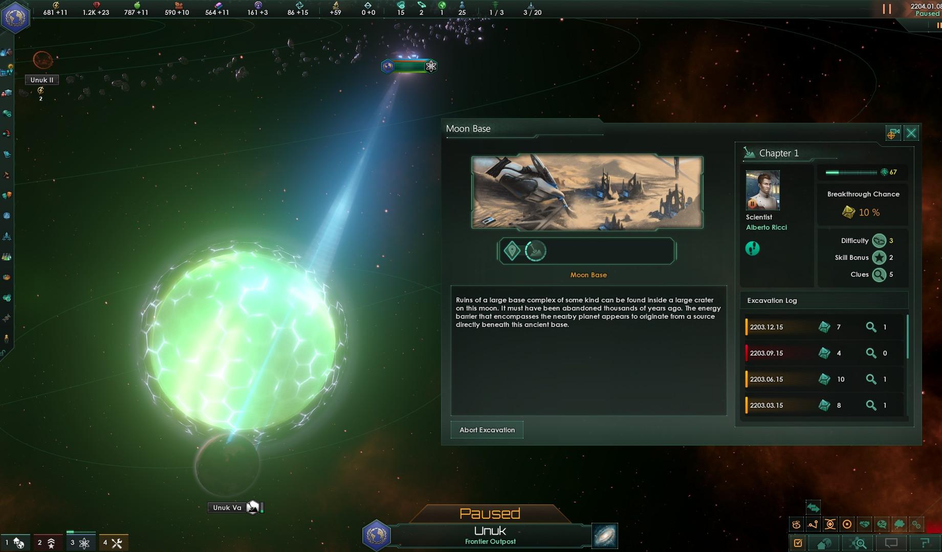 Stellaris Ancient Relics