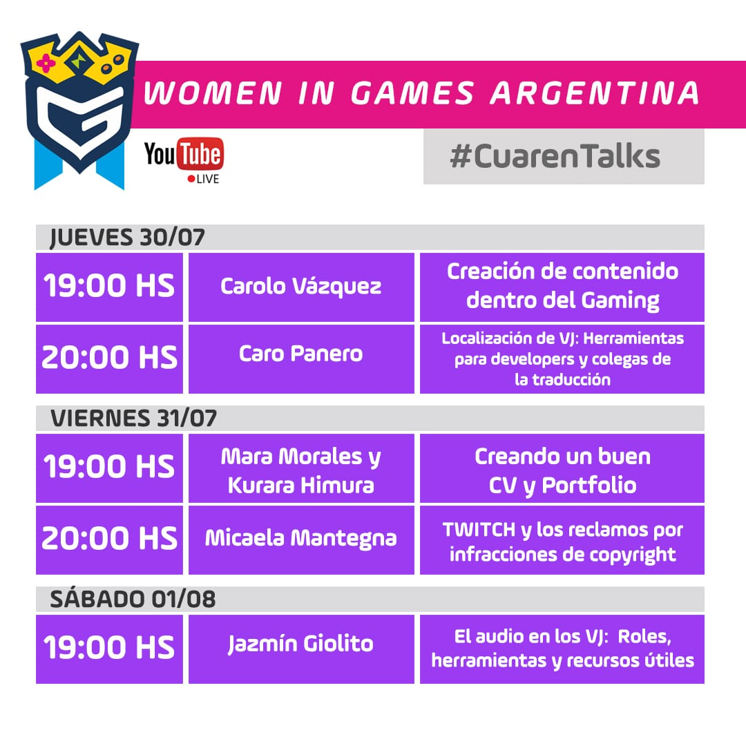 Women in Games Argentina