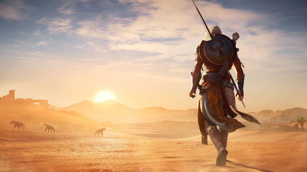 Assassin's Creed paseando por Egipto