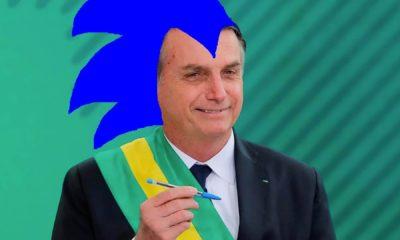 Bolsonaro y Sonic