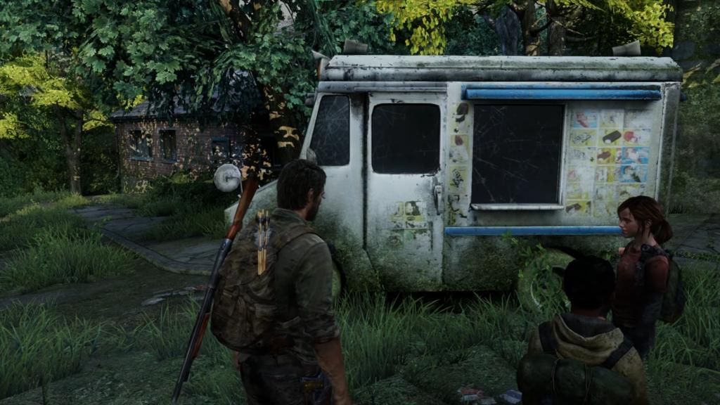 Ellie y el carrito de helados